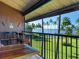 Spread Out In Style+Space! Loft, Lanai, Open Kitchen+Flat Screen–Molokai Shores