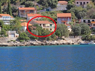 Two bedroom house Brna, Korcula (K-173)