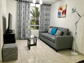 Cozy apartment to 4.5 km of airport, with 03 rooms.