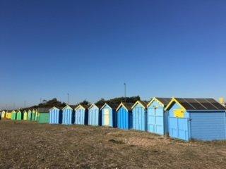 Little Hütten auf Sea Front