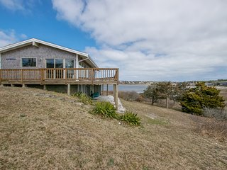 #612: Wraparound deck overlooking Buck's Creek and Nantucket Sound!