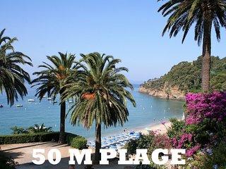 Villa vue mer 50 mètres plage du rayol-canadel
