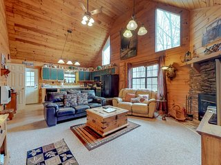 Roomy, cabin-style home w/ private hot tub, outdoor firepit - dogs are welcome!