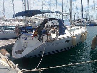 Vacaciones en un velero