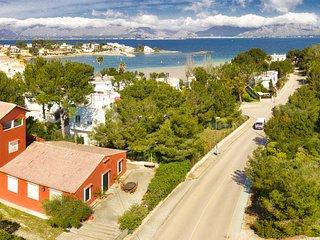 MORER VERMELL :) Villa para 8 personas en Es Barcares, Alcudia. WiFi gratis