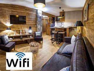 Tignes Apartment Beautiful 6sleeps South View WIFI very quiet skin in/out