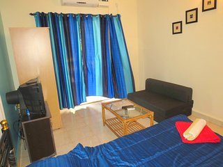 43- Serviced Studio Apartment Central Calangute & Free WiFi
