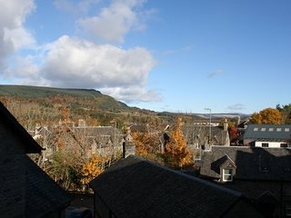 The Crown Apartment, sleeps 4. Located in the heart of Aberfeldy