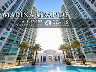 Jan Specials! Marina Grande Condo - Riverfront - 2BR/2BA #1007