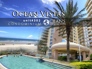 Feb Specials! Ocean Vistas Condo - Ocean View - 4BR/3BA #302