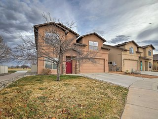 NEW! Grand Junction House w/Media Room & Fire Pit!