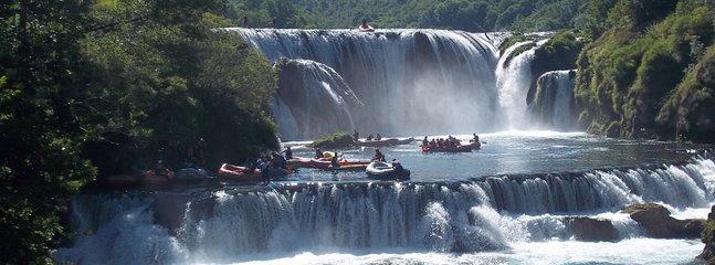 Enjoy in Rafting on Una - amazing experience!