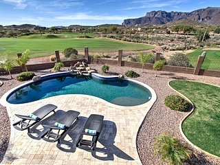 New! Gold Canyon Golf Course Home w/Pool and Views