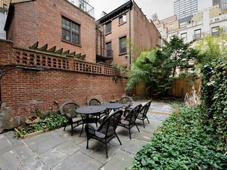 Indulge in a private outdoor terrace in Murray Hill. By Grand Central + Times Sq