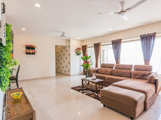 Florals Chic Suite (3BHK) on Higher Floor