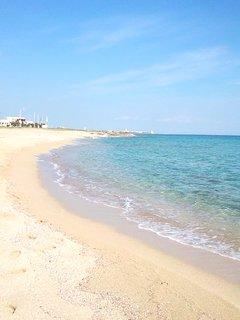 Spiaggia a 250 mt dalla casa.