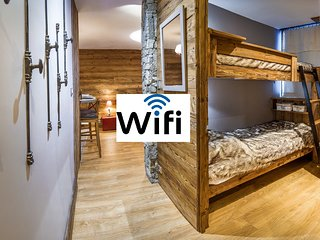 TIGNES 28m² wifi 4 sleeps skin in-out southface