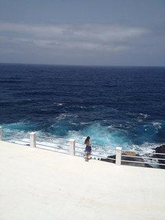 vista mar atlántico desde la casa
