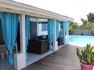 Terrasse couverte 35 m²