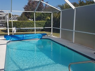 New Port Richey Gulf Coast Florida Heated Pool near Hudson and Tarpon Springs