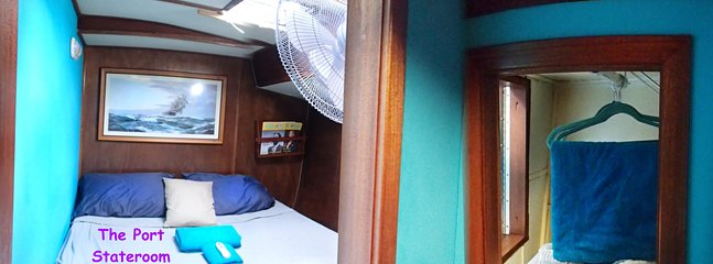 Lit Queen - bonne ventilation - grand ventilateur