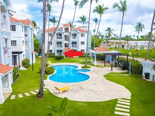 Arenas de Bavaro A-102,Close to the Beach, Common Pool&BBQ, ONLY $89 APRIL 2018