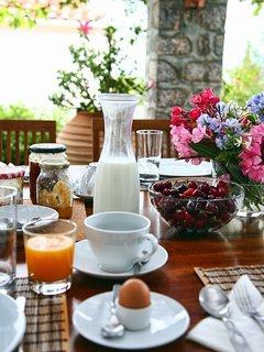 Daily homemade breakfast