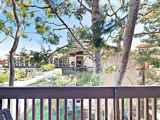Chic Marina Pacifica 1BR w/ Water Views & Amenities — Walk to Shops & Dining