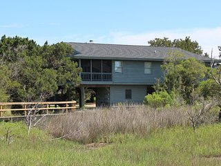 Collins Creek Front Beach House - South End of Pawleys Island!