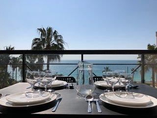 Cannes Palme d'Azur, superbe vue mer, face aux plages de sable fin