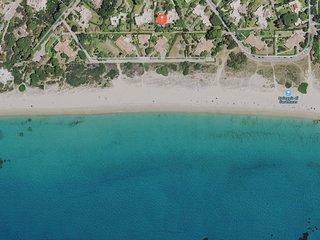 Villa 50  meters from the beach, coastal Villasimius