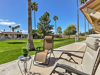 Golf Course View Condo w/ Pool - Near Sloan Park!