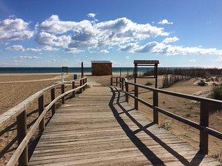 Casa al pie de la playa