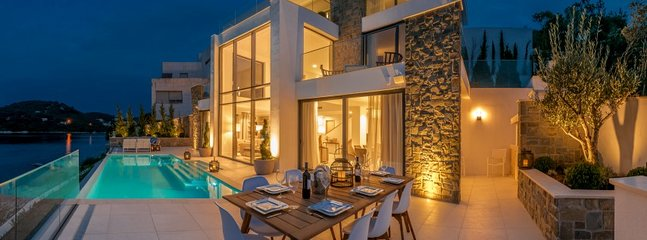 Luxury waterfront villa for rent, Korcula