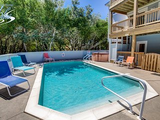 Duckaway Home | 993 ft from the beach | Private Pool, Hot Tub