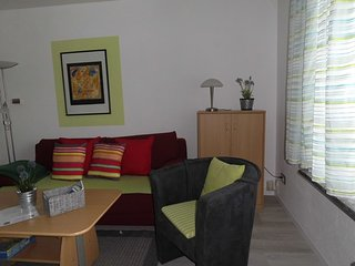 Blick Wohnzimmer