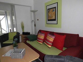 Ferienhaus Gallileo, Whg. Reihenhaus - Terrasse u. Balkon - incl. Strandkorb