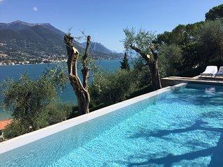 Villa Elisabeth: private pool and lake view