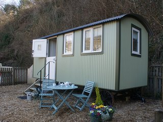 Buttercup Shepherds Hut, near the sea, North Devon