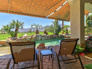 Luxurious golfer's delight with private pool, sauna, hot tub, and course access