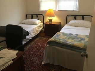 Wow! Private room in N. Arlington-6 min to DC and Georgetown