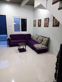 It has a living room for you to watch your favorite shows and movies.  We have internet access for u