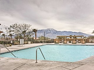 NEW! Desert Hot Springs Home w/Views & Pool Access