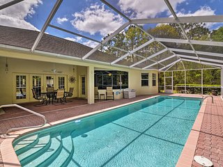'Simplicity' Citrus Springs House w/ Pool & Lanai!