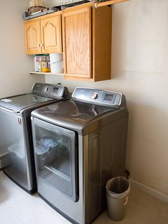 Fully Equipped Laundry Room with complementary laundry soap