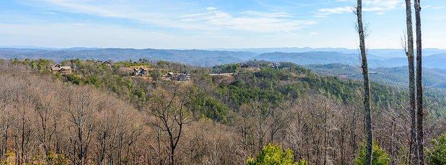 Panoramic Long Range Layered Views from the Condo
