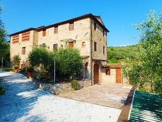 4 bedroom Villa in Coli, Tuscany, Italy : ref 5586296