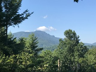 Impressive View of Grandfather Mountain