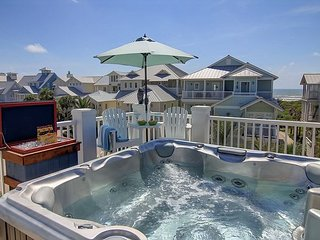 Gulf-View 5BR w/ Elevator, Sports Bar & Hot Tub - Near Pool & Boardwalk