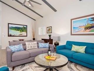 Grand Opening Special!  Gorgeous 3 bedroom condo in Pier Bowl - Walk to beach